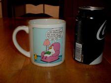 "LEIGH RUBIN - RUBES COMIC STRIP, ""CHICKEN LIPS"", Colored Cartoon Coffee Cup/ Mug"