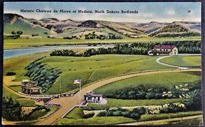 Historic Home, Hunting Lodge, Chateau de Mores, Medora, ND Badlands. Linen.