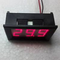 Mini voltmeter tester Digital voltage test battery DC 0-30V red auto car NT