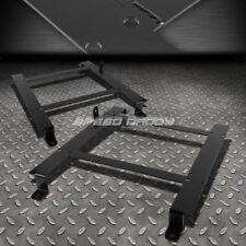 FOR 97-04 CORVETTE C5 2X LOW MOUNT RACING BUCKET SEAT BASE TENSILE STEEL BRACKET