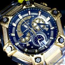 Invicta Shaq Bolt 1.4CTW Diamond Steel Swiss Mvt Gold Two Tone Watch 60mm New
