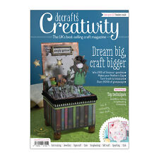 Docrafts creativity magazine March 2014 no. 44 + FREE Decoupage, ribbons & DVD