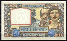 BILLET Science et Travail. 20 Francs. 19/12/1940. Superbe. RARE, G.2428 / 092
