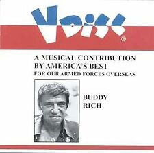 V-Disc Recordings by Buddy Rich (CD, Aug-1998, Collectors' Choice Music)