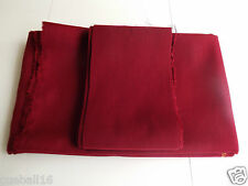 BURGUNDY 6x3 Fast Pool Tables Speed Cloth for all 6ft Pool Tables