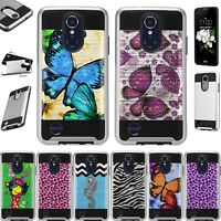 For LG Xpression Plus 2018 Hybrid Phone Case Cover Metaguard F6