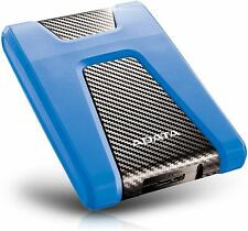 ADATA HD650 2TB USB 3.1 Shock-Resistant Xbox & PS4 External Hard Drive, Blue