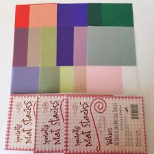 "DCWV 4.5"" x 6.5"" Premium Vellum Papers 120 sheets 8 Colors ACID & LIGNIN FREE"