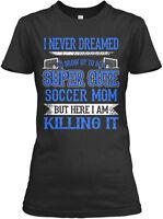 Super Cute Soccer Mom (amz) Gildan Women's Tee T-Shirt