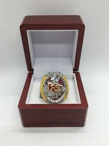 2020 Kansas City Chiefs Super Bowl Patrick Mahomes Championship Ring Set with Bo