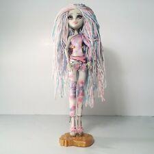 Monster High Doll Rochelle Goyle Custom Rerooted Yarn Hair Doll Mattel 2011