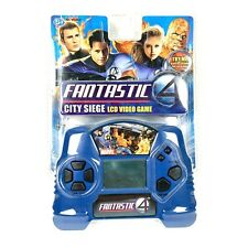 Fantastic 4 City Siege LCD Handheld Electronic Video Game NEW SEALED 90450