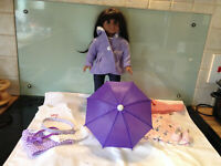 NEW MY LOOKALIKE DOLL   (style of American Girl) ,  ALL NEW CLOTHES BUNDLE