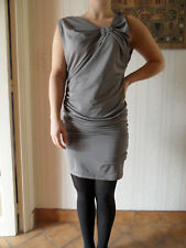 ROBE    GRISE  STRETCH   Taille  S/M