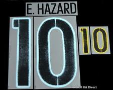 Belgium Hazard 10 Euro 2016 Football Shirt Name/number Set Away Sporting ID