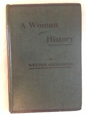 Weedon Grossmith - A Woman With A History - 1st/1st 1896, Scarce Early Detective