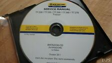 2011 NEW HOLLAND T7.220-T7.270 TRACTOR SERVICE MANUAL CD DN143