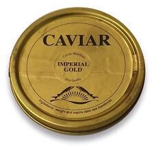 200gr Imperial Gold Kaviar ( Caviar ) Malossol + 2 Perlmutt-Löffel