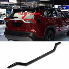 Fit for Toyota  RAV4 2019 Rear Trunk Lid Curve Molding Trim Carbon Fiber
