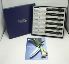 Brand New! Set of 6 Cutco 1759 KG Brown Handle Steak Knives in Box *FREE SHIP*