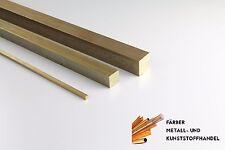 Messing 6x3 mm Flachmaterial Länge wählbar MS58 CW614N CuZn39Pb3 2.0401 Flach