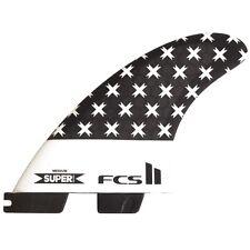 Fcs II Super Brand SB Triquad Planche De Surf Fins Large New 5 fin Tri-quad set