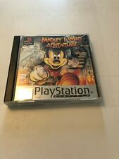 Mickeys Wild Adventure, PS1, PlayStation 1, Classic Game