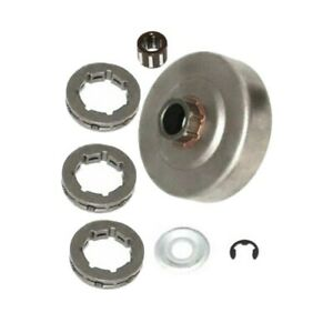 Set Clutch Drum Sprocket Kit For Stihl 034 Bearing Washer Parts Replacement