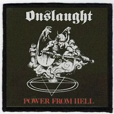 ONSLAUGHT PATCH / SPEED-THRASH-BLACK-DEATH METAL