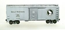 GREAT NORTHERN SILVER BOXCAR-HO SCALE