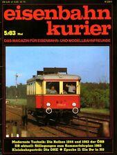 Eisenbahn Kurier EK Heft 5/1983 Thüringen Steilstrecken + Fahrplan 83/84 (B7)