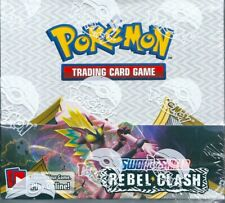 Pokemon  TCG sword and shield rebel clash factory sealed 36 booster box