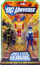 "Justice League Unlimited 3-Pack 4.75"" ANGLE MAN FIRESTORM KILLER FROST Figure"
