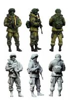 1/35 Resin Figure Model Kit Modern Russian Soldiers Unassambled Unpainted