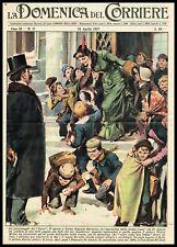 1957 In Memory of Teacher Eugenia Barruero, Vintage Newspaper Print - Molino