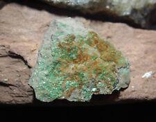 MINÉRAUX COLLECTION  ZEUNERITE (uranium) de lodeve 34 france   42 gr H28
