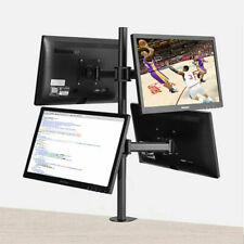 """LOCTEK Quad Arm Monitor Mount 10""""-30"""" Model DF2Q"""