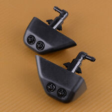 1 Pair L & R Headlight Washer Jet Spray Nozzle Fit For Land Rover LR2 2008-2013