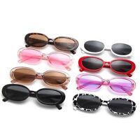 Vintage Retro Oval Sunglasses Small Frame Glasses Trendy Fashion Shades