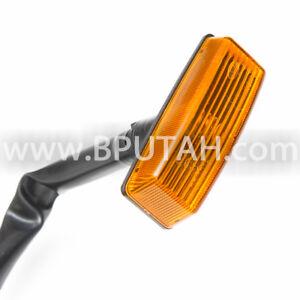 Range Rover Classic Side Marker Lamp Light Reflector Amber Front Fender = PAIR =