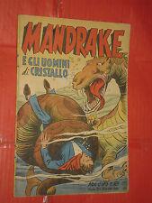 ALBO ORO N° 169-lg-originale 1949-DISNEY MONDADORI-mandrake uomini di cristallo