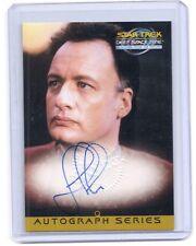 "Star Trek Deep Space Nine DS9 MFTF John DeLANCIE "" Q "" autograph auto card #A13"