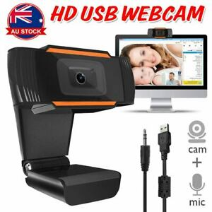 USB Webcam Full HD Web Camera Cam with Microphone for PC Computer Laptop Desktop