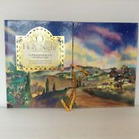 Christmas 1st Ed. O Holy Night Illuminated Nativity Story Fold Out Pop-Up Creche