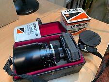 Tamron SP 500mm f8 Catadioptric lens Olympus OM fit - Free 2x TC