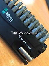 Wera Torx Star Bit Check 31 Piece Impact Driver Bit Set + Bit Holder TX10 - T40
