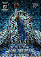 2017-18 Donruss Optic All Clear for Takeoff Fast Break Holo Russell Westbrook