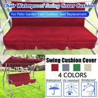 Waterproof Swing Cover Chair Cushion Patio Garden Yard Outdoor Seat Replacement