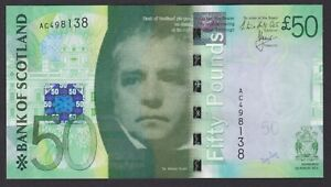 2011 Bank of Scotland 'FALKIRK WHEEL' £50 - Horta-Osorio / Grant - perfect UNC