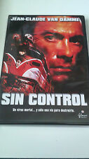 """DVD """"SIN CONTROL"""" COMO NUEVA JEAN CLAUDE VAN DAMME"""